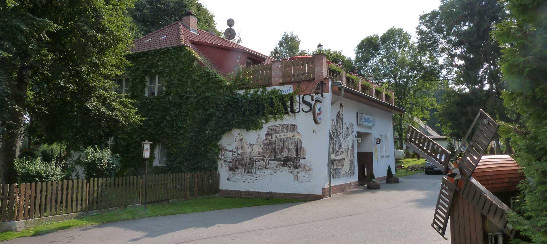 Landhaus Dargelin Hausansicht